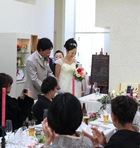 鎌倉 結婚式 レストラン ウエディング レグリーズ 披露宴