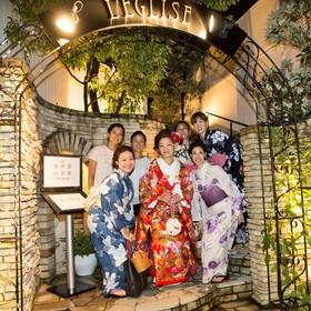 洋装・和装どちらも映える鎌倉の結婚式