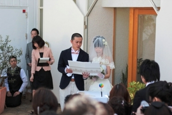 海外挙式後のお披露目式にも最適なレグリーズ鎌倉