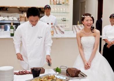 オリジナルメニューもオーダー可能なレグリーズ鎌倉の結婚式