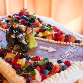 三渓園 横浜 ウェディング オリジナルケーキ