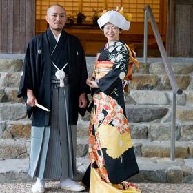 横浜 結婚式 和装 三渓園 歴史的建造物