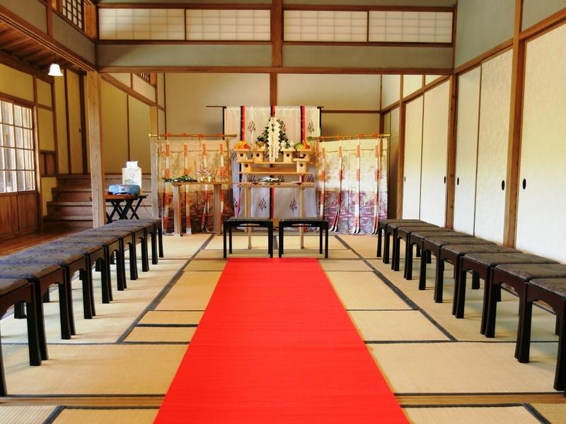 横浜 結婚式 神前式 和装 三渓園 文化財 歴史的建物