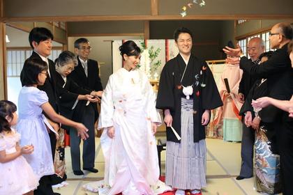 横浜 文化財 庭園 神前式 結婚式 三渓園