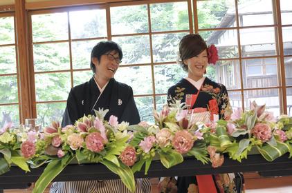 横浜 結婚式 文化財 和 披露宴 三渓園