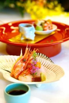 結婚式 横浜 三渓園 婚礼料理 海老