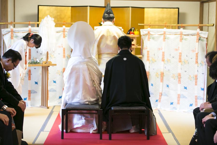 家族の想いを叶える1組限定の神前式 三渓園 結婚式