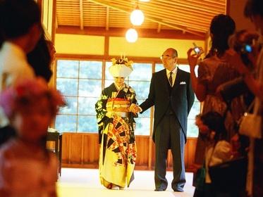 横浜 結婚式 三渓園 神前式
