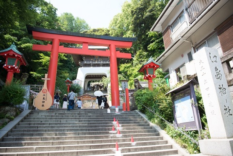 日本三大弁財天・江島神社