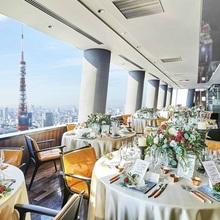 東京タワーを目の前に臨む絶好のロケーション