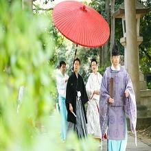 人気の赤坂氷川神社での結婚式