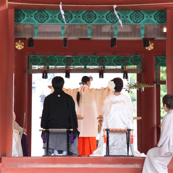鎌倉 結婚式 鶴岡八幡宮 神前式