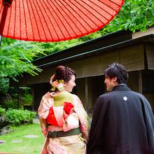 鶴岡八幡宮 神前式 挙式後 家族 会食 絆婚