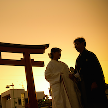 鎌倉 結婚式 鶴岡八幡宮 神前式 家族のみ