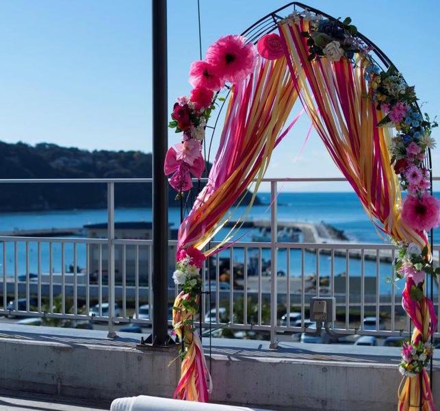 神奈川 湘南 江ノ島 結婚式 海の見える バウリニューアル