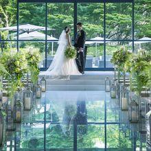 美しい緑に包まれて憧れの花嫁に♪