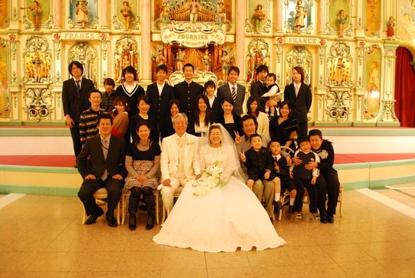 金婚式 東京 記念撮影