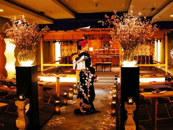 小田原 結婚式 和婚 ベルジュール 神殿 神前式