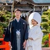 神社にて挙式