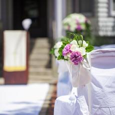 バージンロード装花
