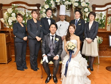 スタッフみんなでおふたりだけの記憶に残る結婚式に