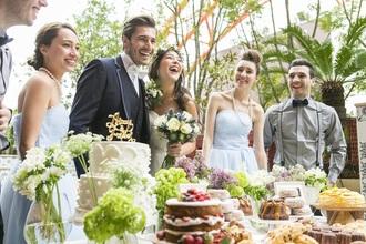 リゾート挙式後の家族や友人とのお披露目パーティー