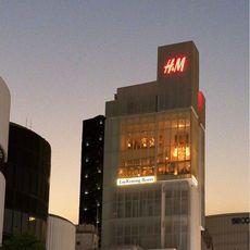 H&M最上階に位置する当会場