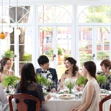 恵比寿のなみき道を見ながら和やかな食事会