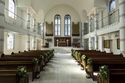 八王子ホテルニューグランド 大聖堂 チャペル挙式