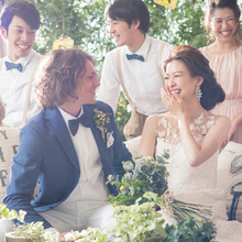 春の温かい日差しの中、ゲストと笑顔溢れる温かいパーティを♪