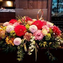 和装・洋装に合わせた生花
