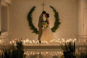 ロマンチックなクリスマスウェディングを!