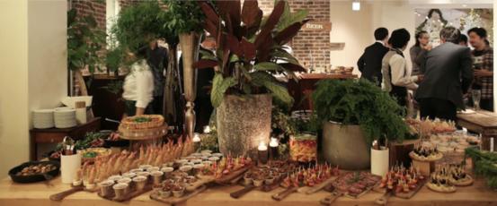 0b6b83b2ddf8f BEARS TABLE の料理. 会話の生まれる、見ても食べても美味しいビュッフェ