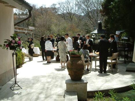 箱根 リゾートウェディング レストラン アルベルゴバンブー