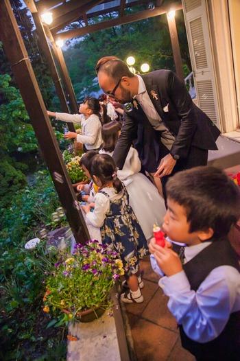 ナイトウェディング 結婚式 貸切 パーティ バンブー