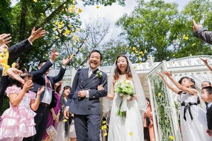 箱根 リゾートウェディング ガーデンチャペル バンブー
