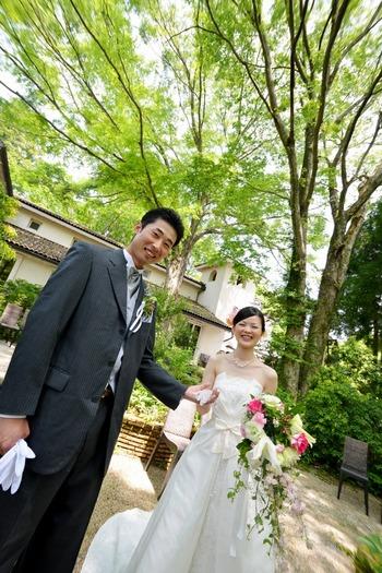 箱根 グリーンリゾート 結婚式 写真 アルベルゴバンブー