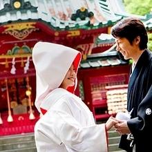 箱根神社での神前式&バンブーでのガーデンパーティ