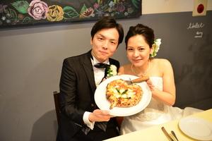 東京でブライダルフェア&試食会なら青いナポリ