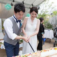 【ウェディングケーキ】