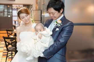授かり婚やお子様と一緒のご家族婚でもしっかりサポート