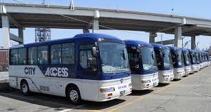 バスの送迎付きでゲストも安心♪