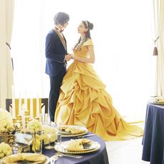 ベルの印象的なカラー黄色