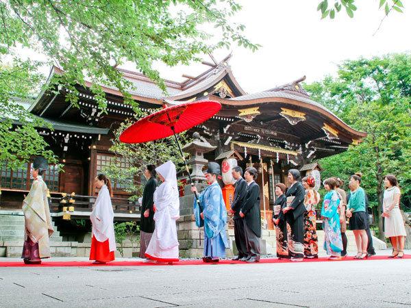 新宿 十二社熊野神社の画像