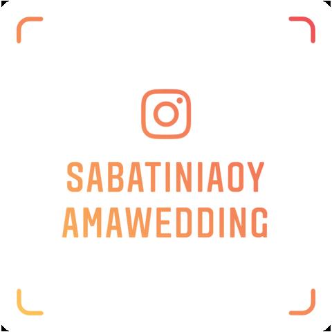 インスタで【sabatiniaoyamawedding】をチェック!