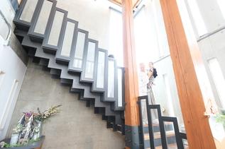 和装の階段はちょっと大変(笑)