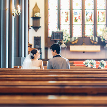 大聖堂でのおふたりの記念日をしっかりとカタチに残せます
