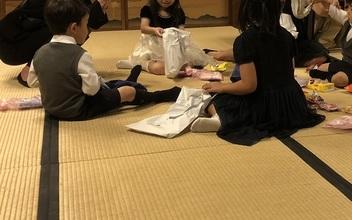 子供に優しい畳の会場