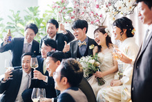 少人数でアットホームな結婚式が叶います。