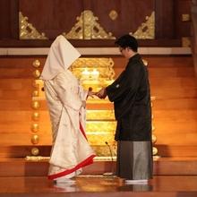 北海道神宮での神前式